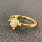 Load image into Gallery viewer, Rose Cut Diamond Ring in 18K Gold
