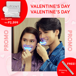 Lucent Teeth Whitening Kit [Love Month Promo - Discount + Free pen]