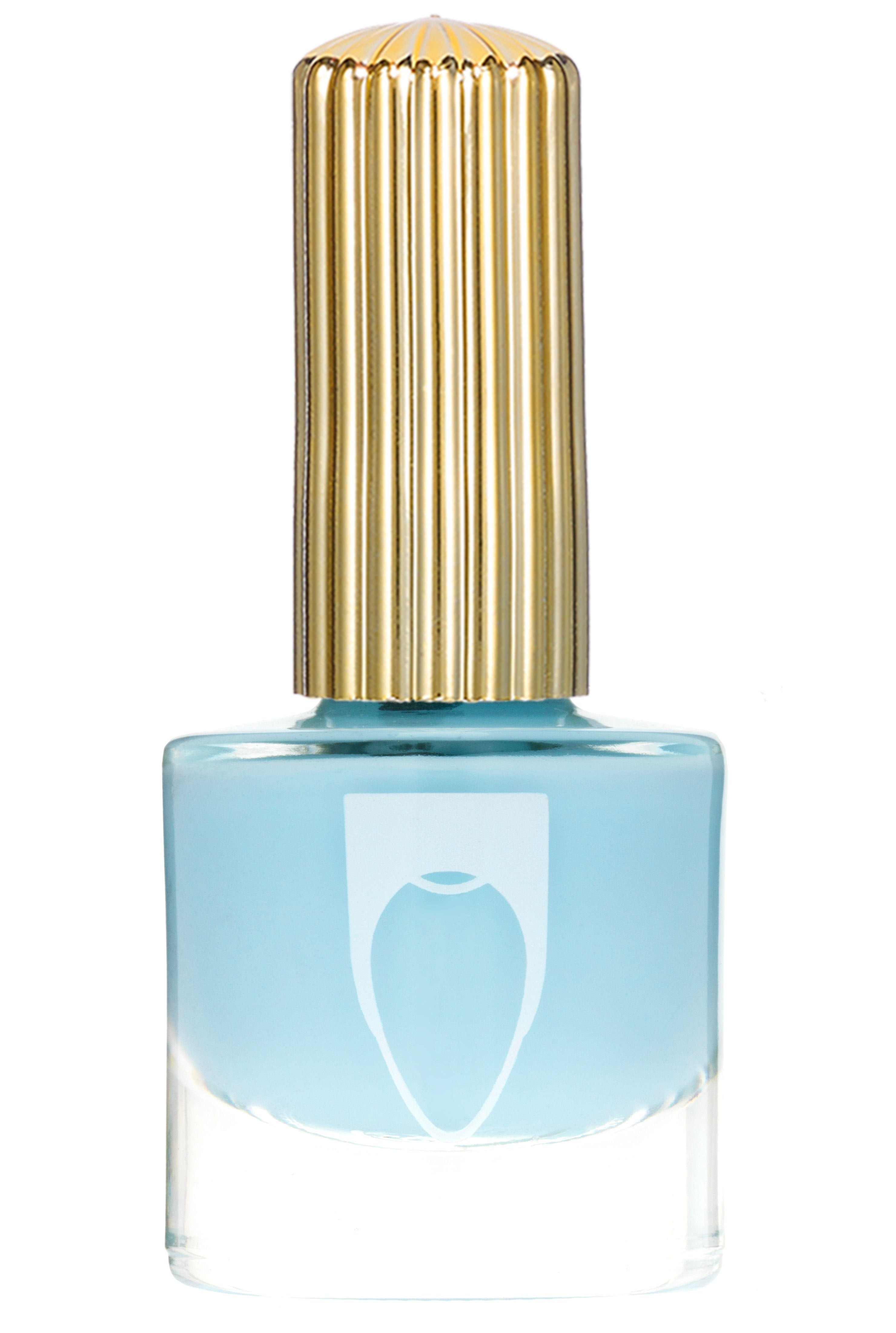 Bottle of Floss Gloss Nail Polish Bobby Bobby light blue color