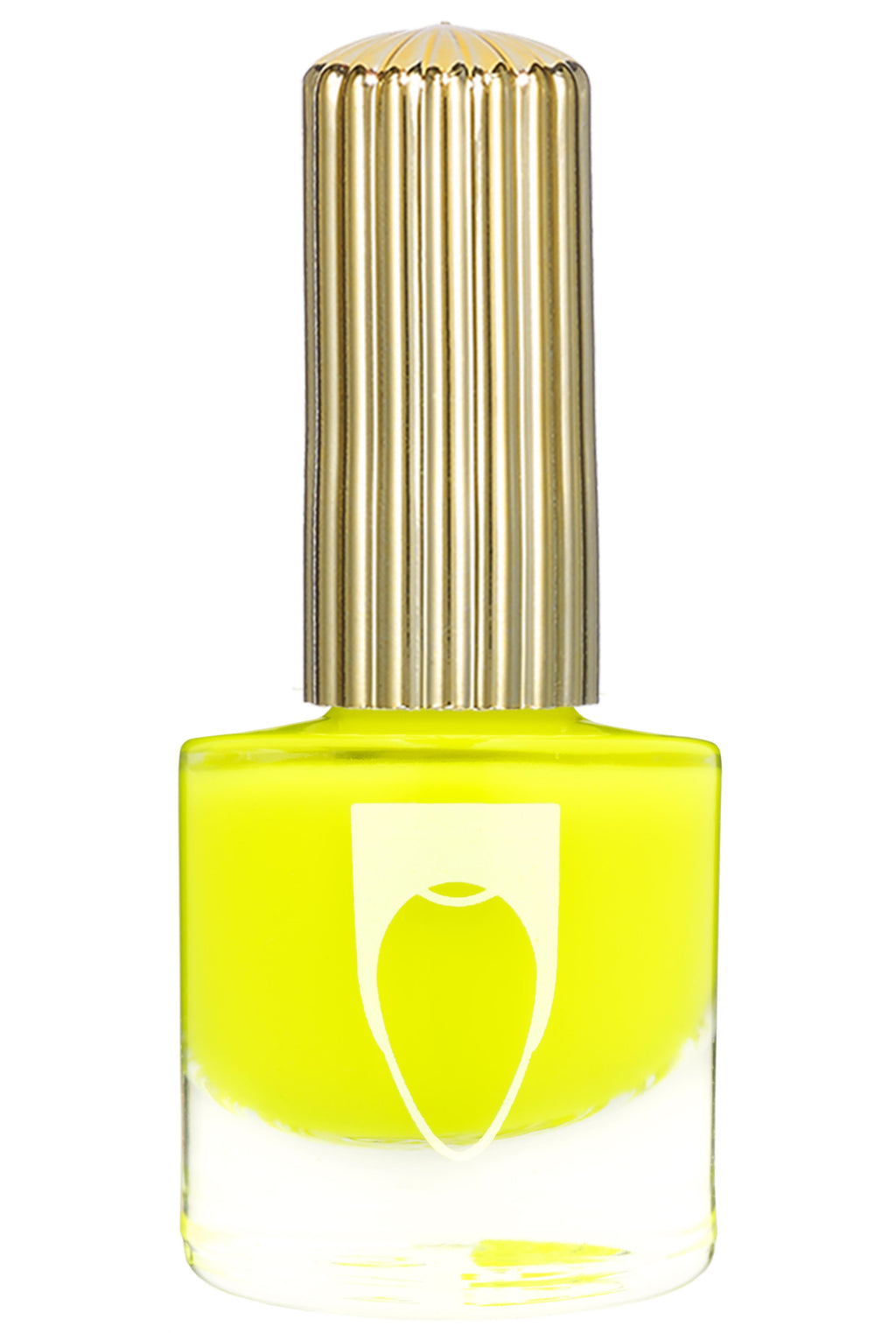 Hella Hilite Floss Gloss nail polish in neon yellow