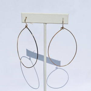 Structured Oval Earrings