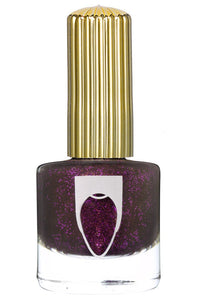 Bottle of Floss Gloss Nail Polish Candy Paint Job in bottle with gold cap