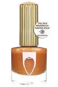 Bronze creme with shimmer Floss Gloss nail polish in Donatella