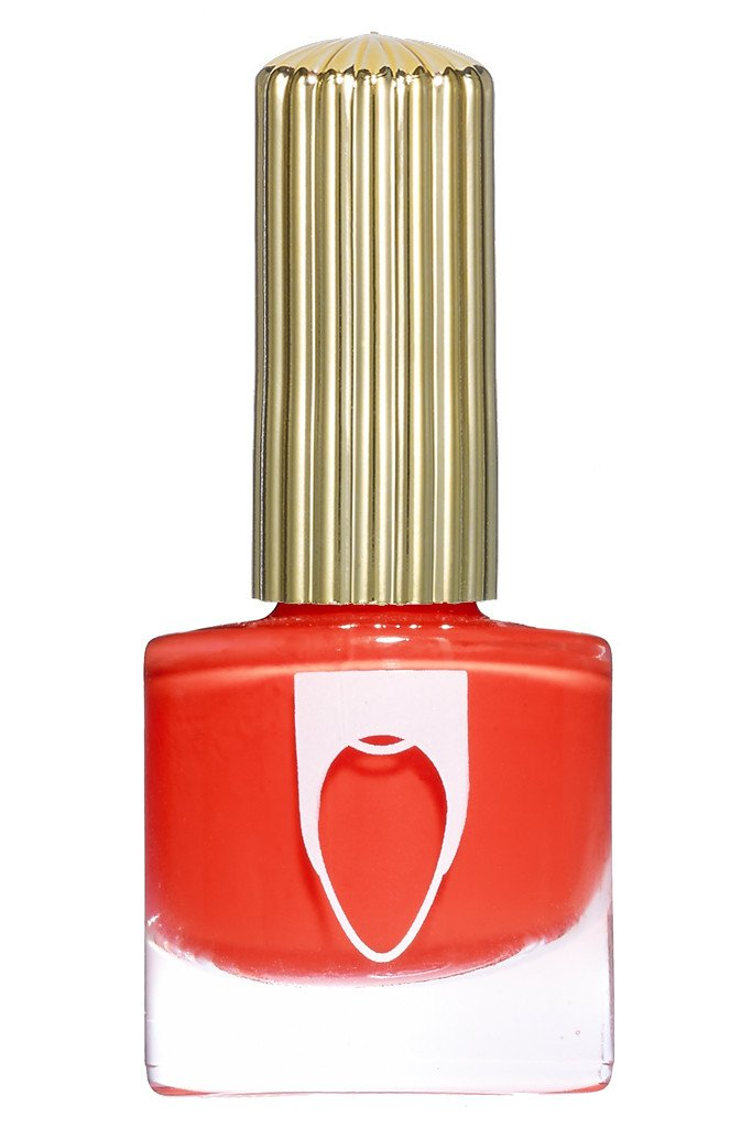 hot red with bright orange color  Floss Gloss Fastlane