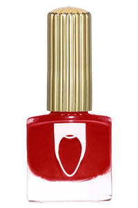 Classic red colored Floss Gloss Gangsta Boo nail polish