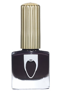 Expresso brown navy color Floss Gloss nail polish in Partybruise
