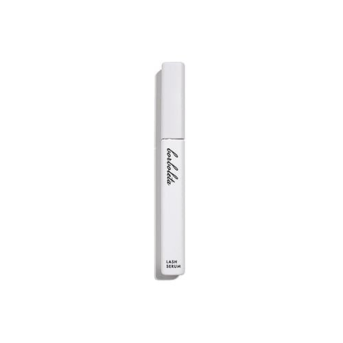 Borboleta Lash Serum white plastic dispender bottle in matte