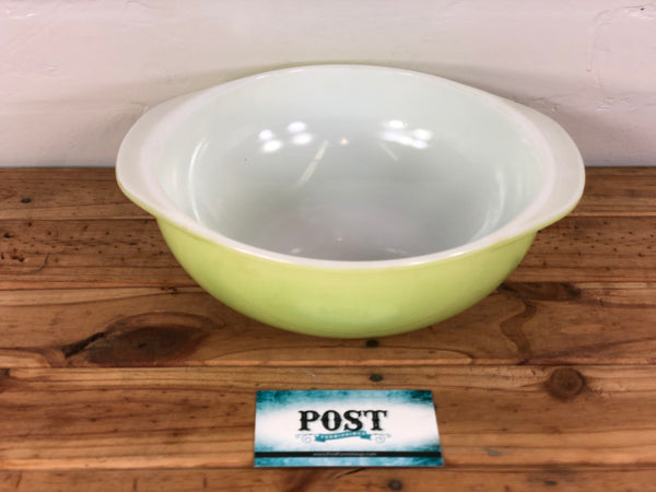 Light Green Pyrex Mixing Bowl