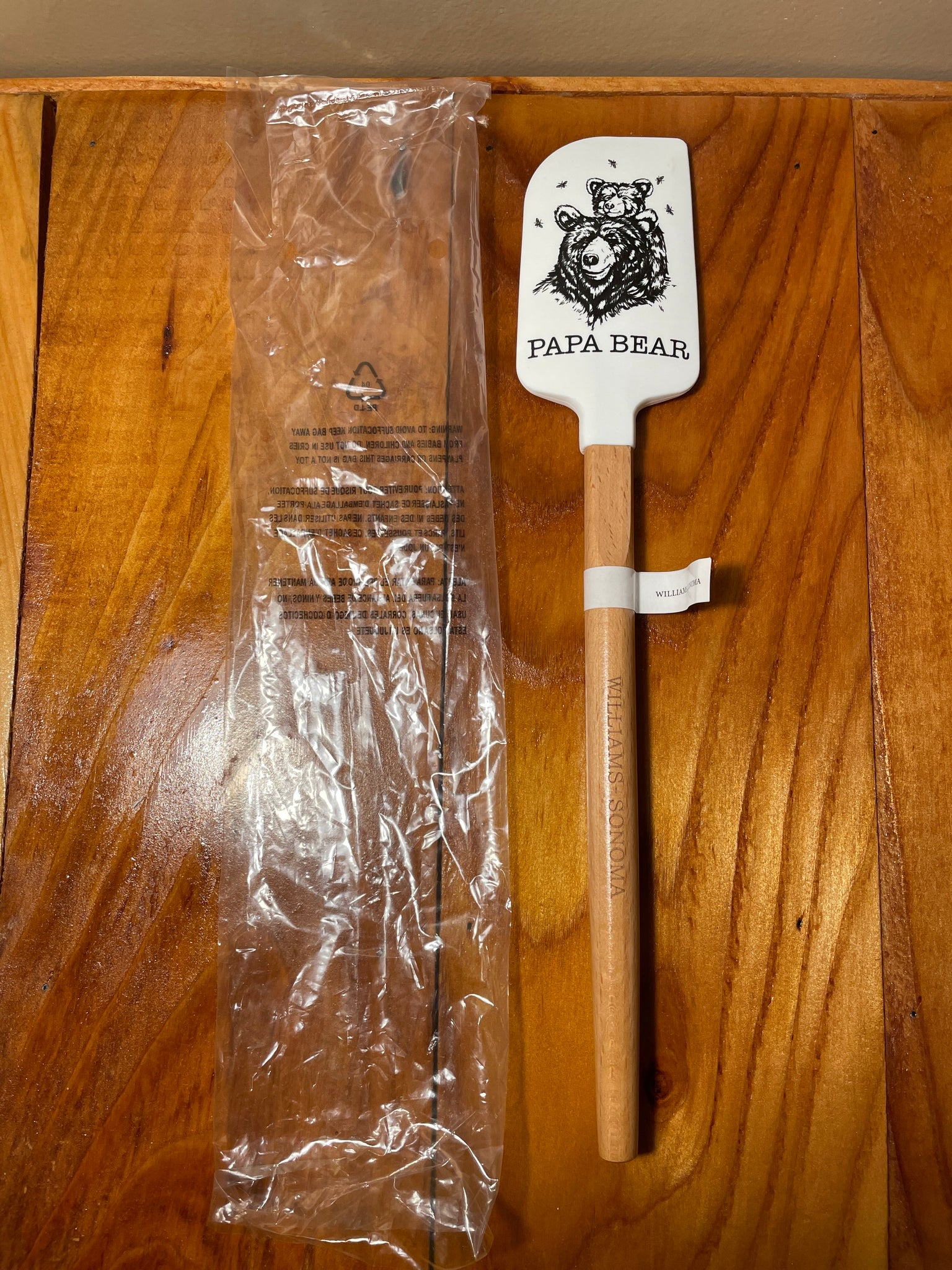Williams Sonoma Papa Bear Spatula