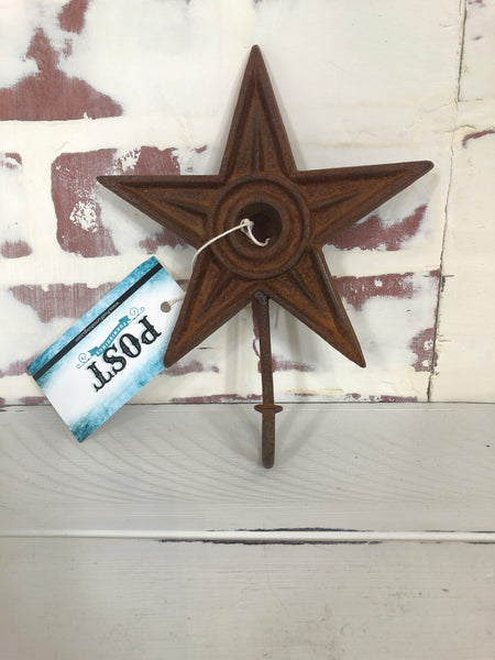 Star Wall Hook - Cast Iron
