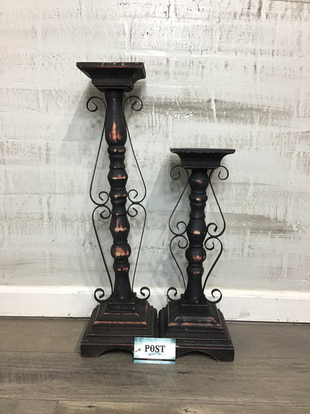 Set of 2 Candle Stands