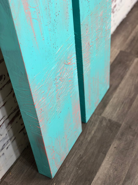 Teal Wall Decor