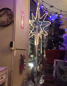 Huge light up Christmas Star