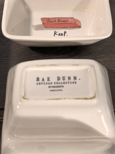 Rae Dunn Divided Dishes