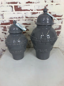 Gray Jars / Urns
