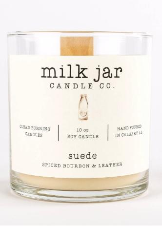 Suede - Spiced Bourbon & Leather