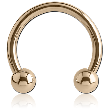 14K Gold Horseshoe (GCC)