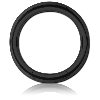 316L Black Steel smooth Segment Ring (BKCSR)