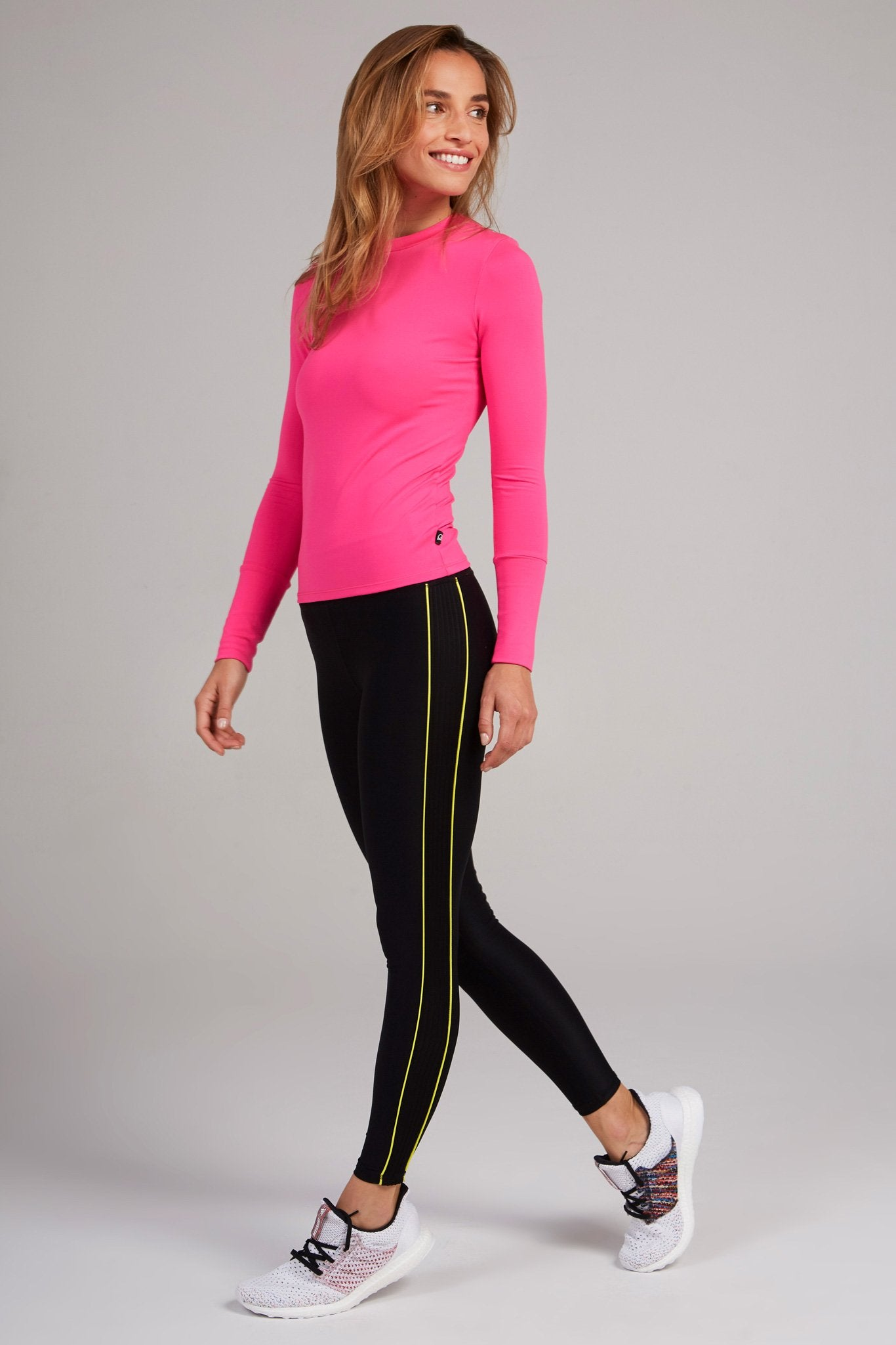 Neon Pink All-Use Crew Neck