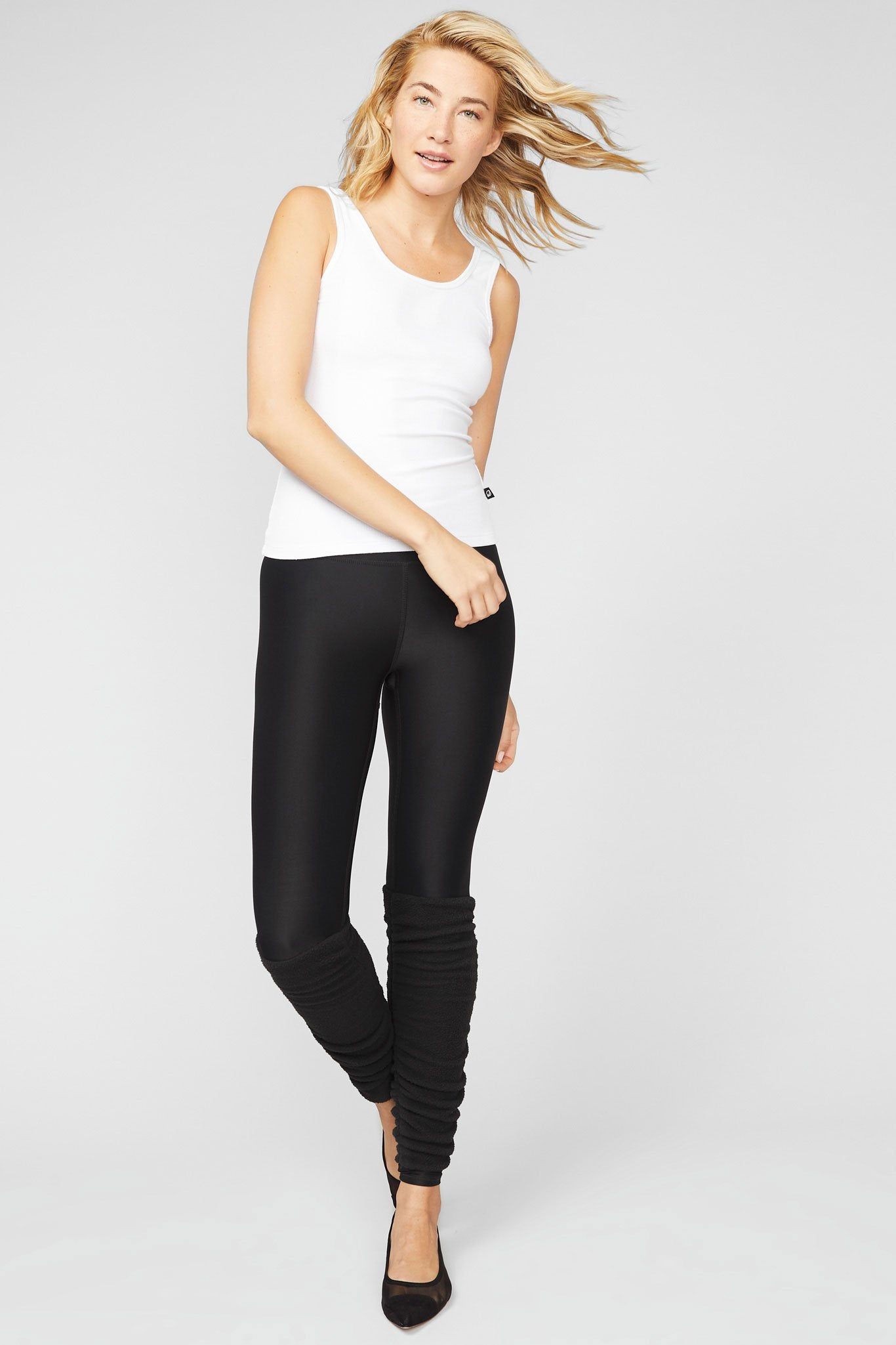 Black Legwarmer UpLift Leggings