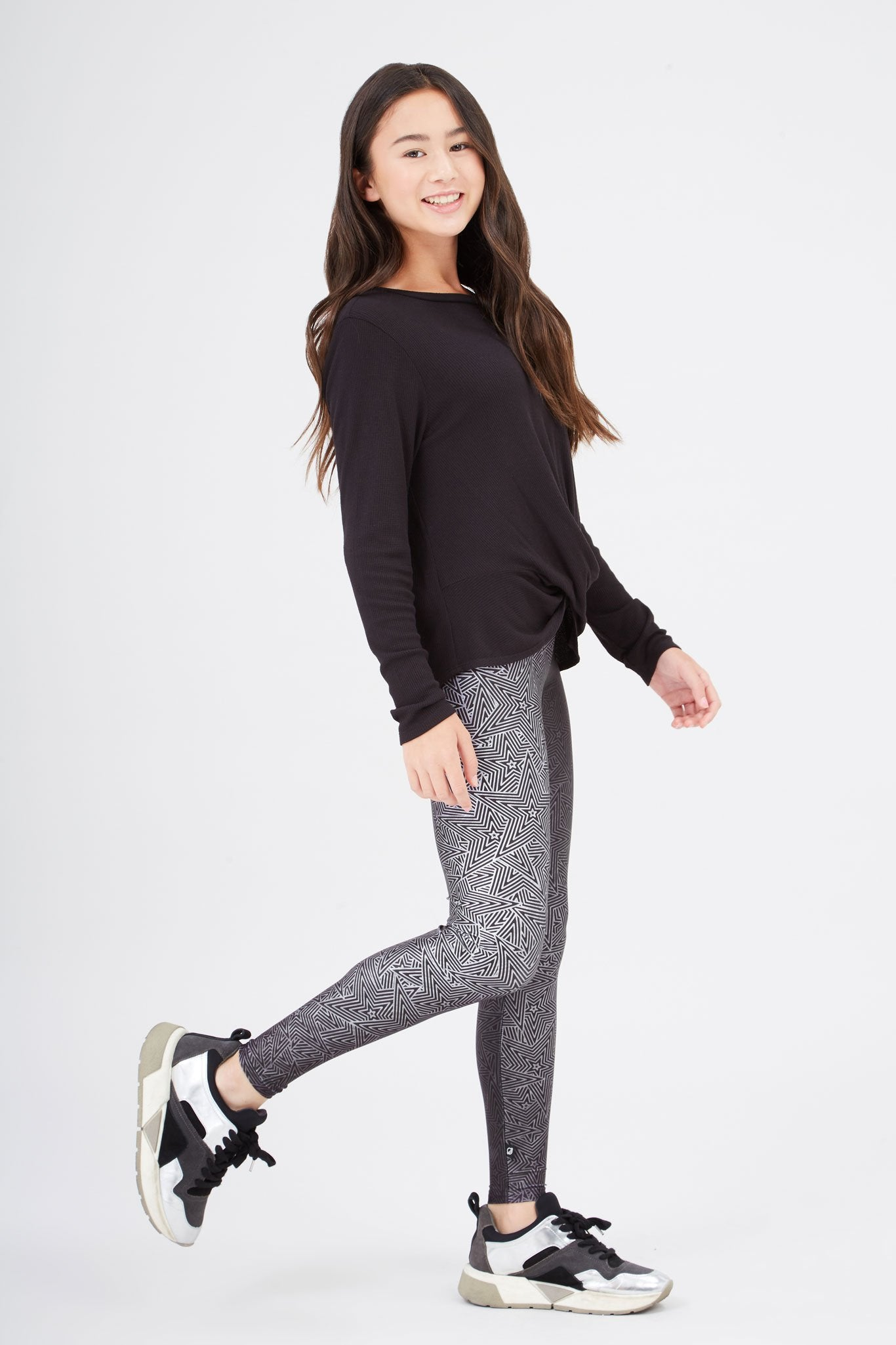 Girls Superstar Moves Leggings