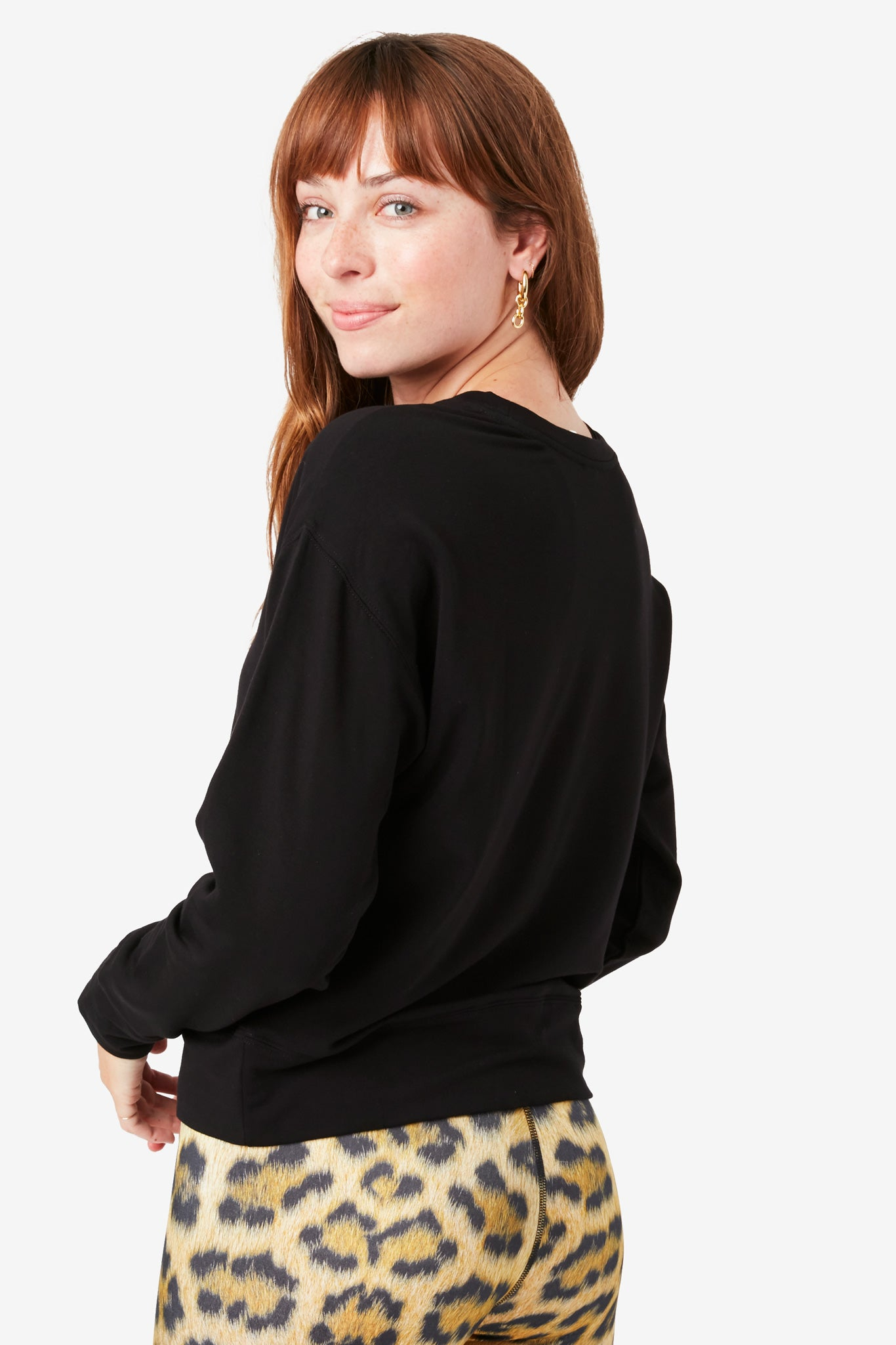 New Yorker Black CozyCozy Sweatshirt