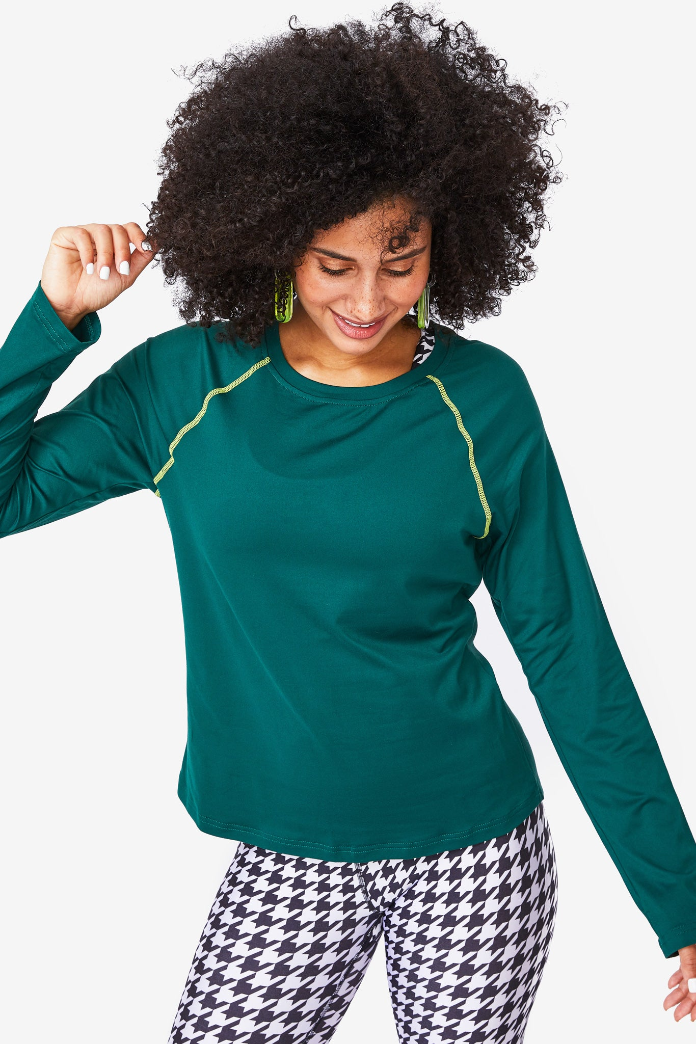 Forest Green WorkIt Long Sleeve Tee