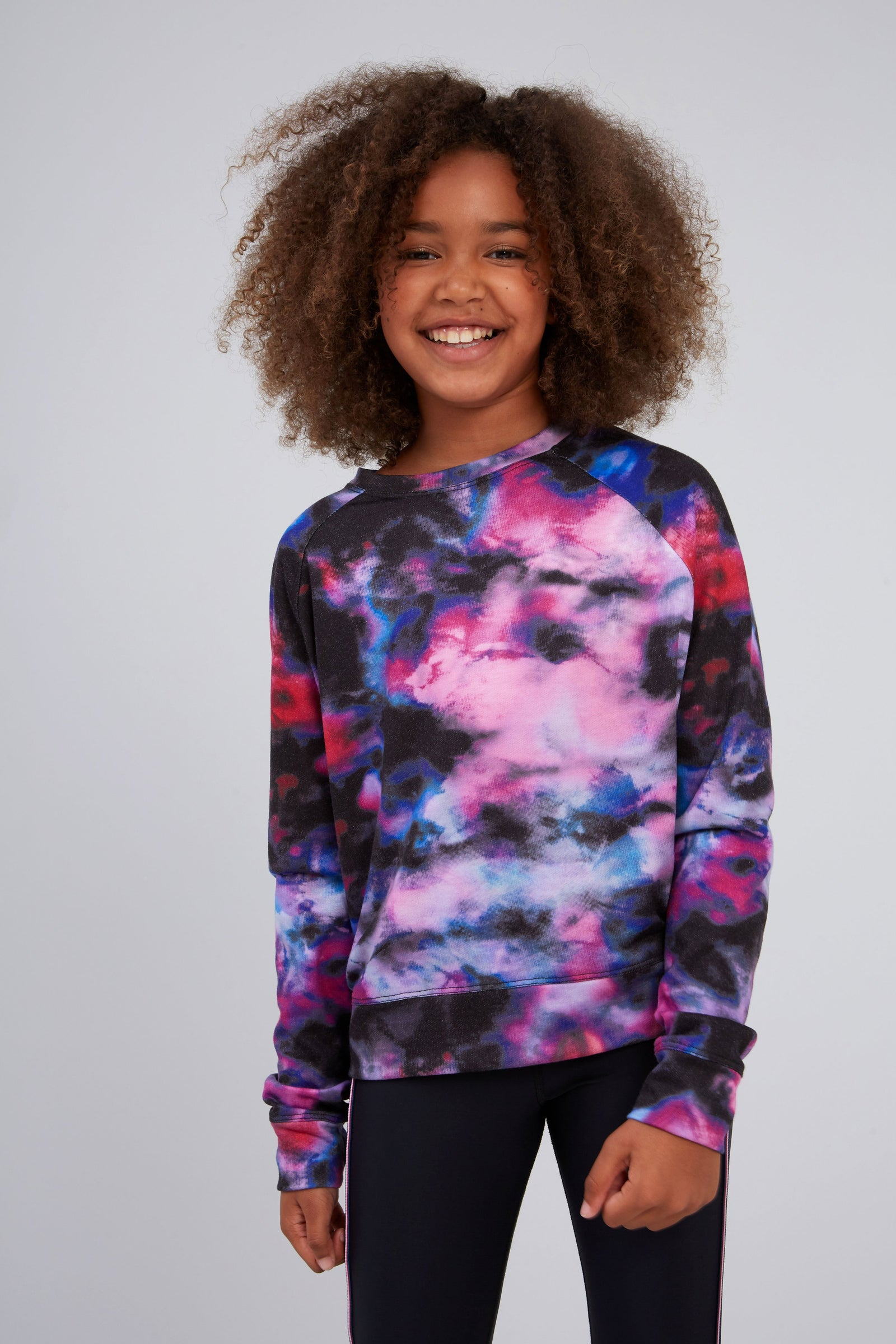 Girls Blurred Lines Sweatshirt