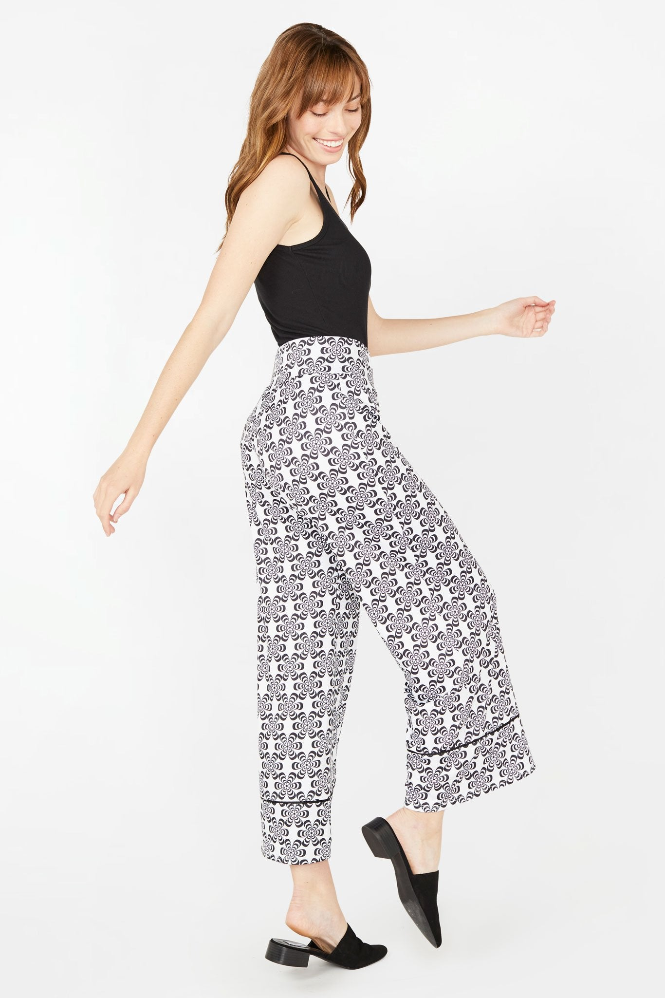 Floral Dreams Wide Leg Pants