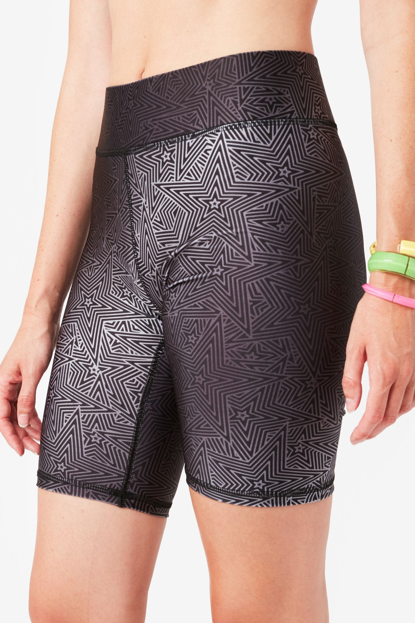Superstar Moves Hi-Shine Bike Shorts