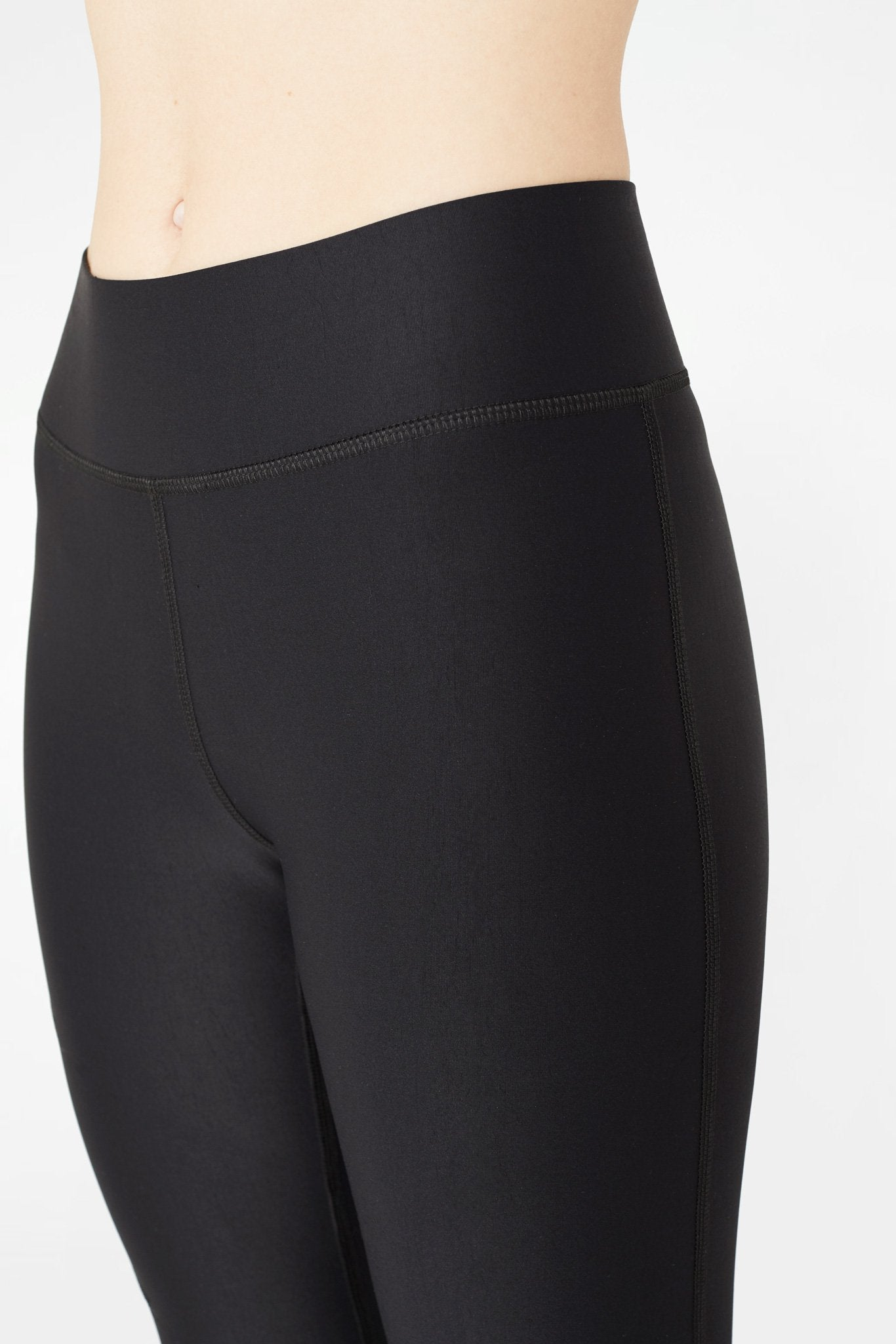 Black Zipper UpLift Leggings