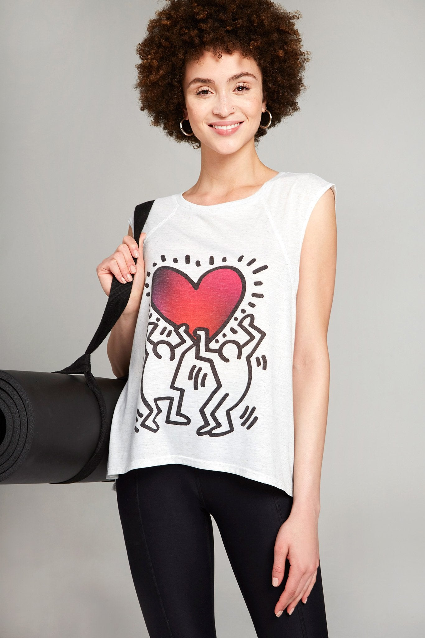 Keith Haring Uplifted Heart Tee by Terez