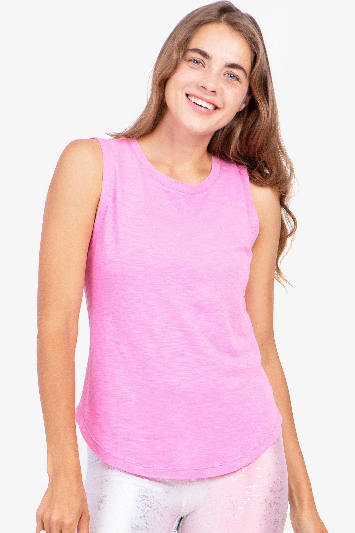 Bubblegum Cotton Tank