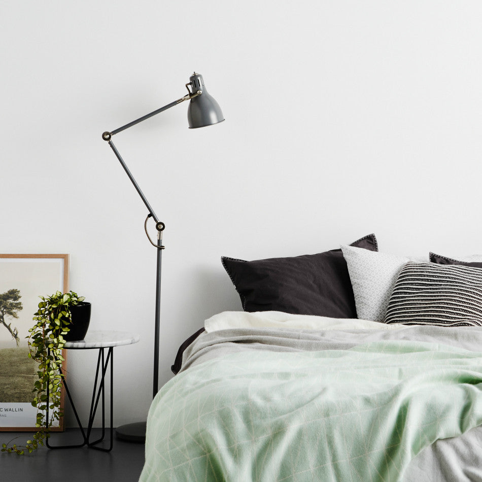 Stone Wash Pillowcases + Euro  - Smog
