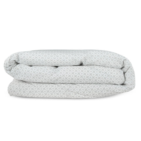 Stitched Mini Sham - Warm Grey