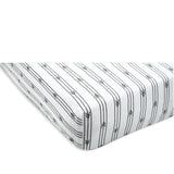 Arrow Stripe Sheet Set - Grey