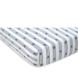 Arrow Stripe Sheet Set - Navy