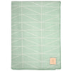 Geo Throw - Mint/White