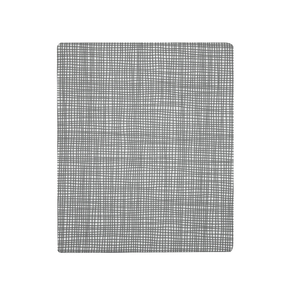 Cross Hatch Sheet Set - Grey