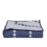 Arrowhead Throw - Indigo/White