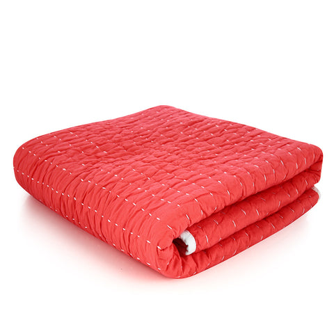 Cross Hatch Sheet Set - Pink