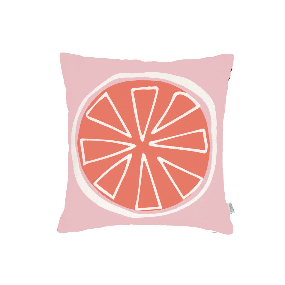 NEW Summer Citrus Cushion - Blood Orange