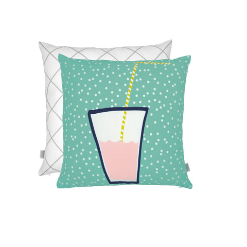 NEW Summer Citrus Cushion - Pink Grapefruit
