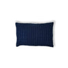 Stitched Mini Sham - Navy