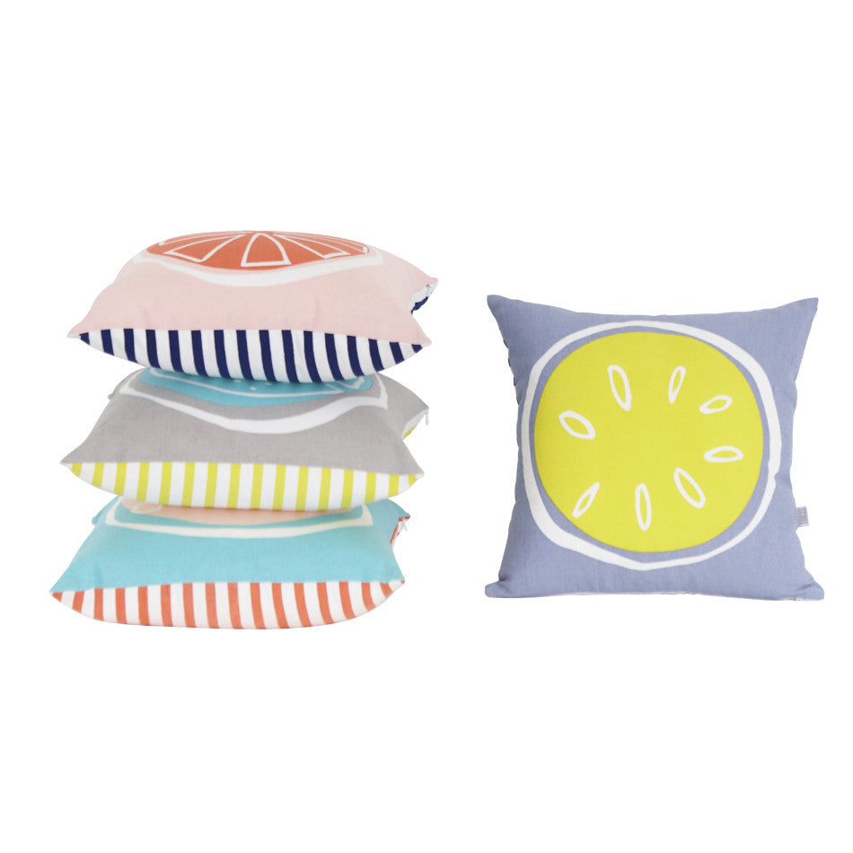 NEW Summer Citrus Cushion - Lime
