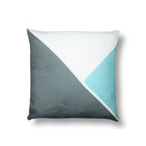 Triangle - Grey/Aqua