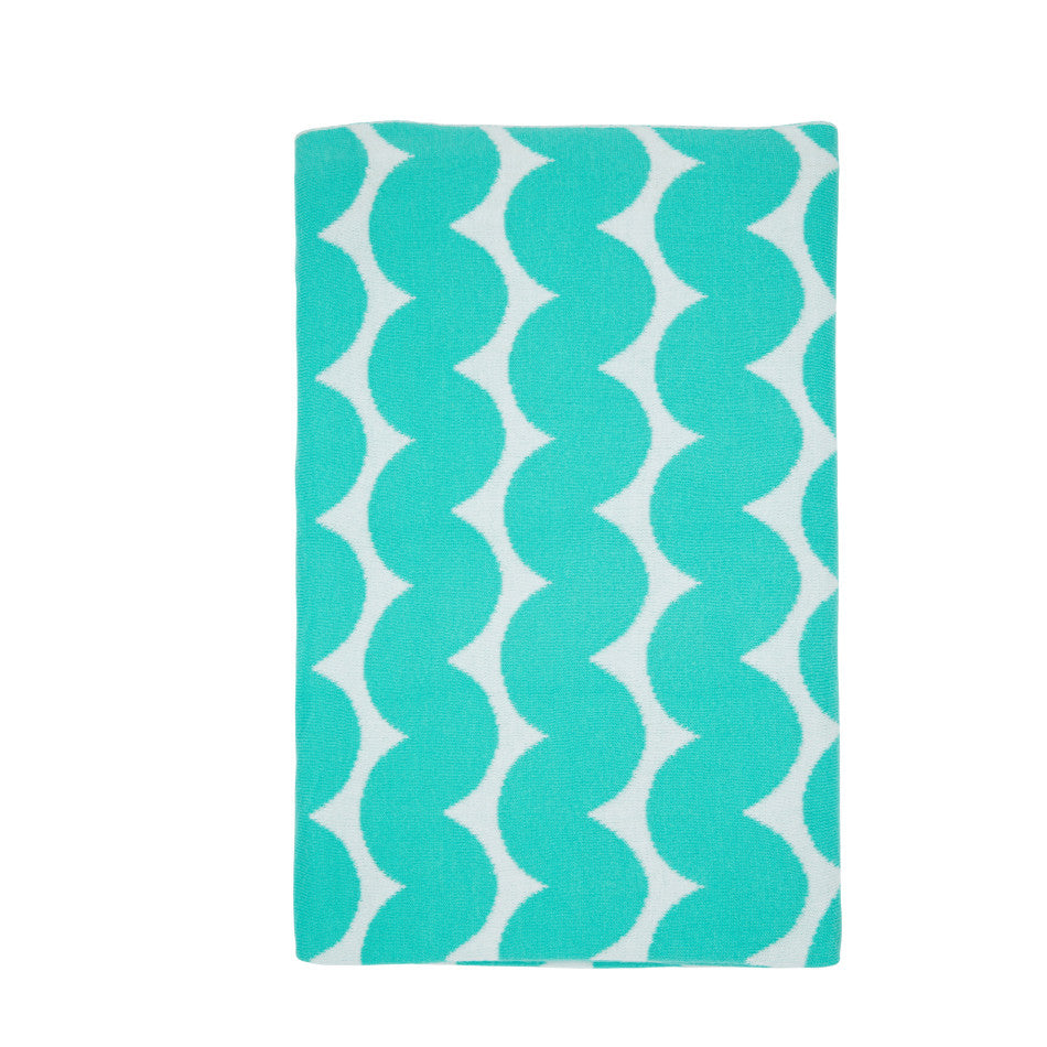 NEW Wave Blanket - Aqua