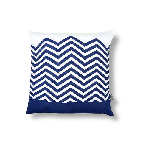 ZigZag Cushion Grey