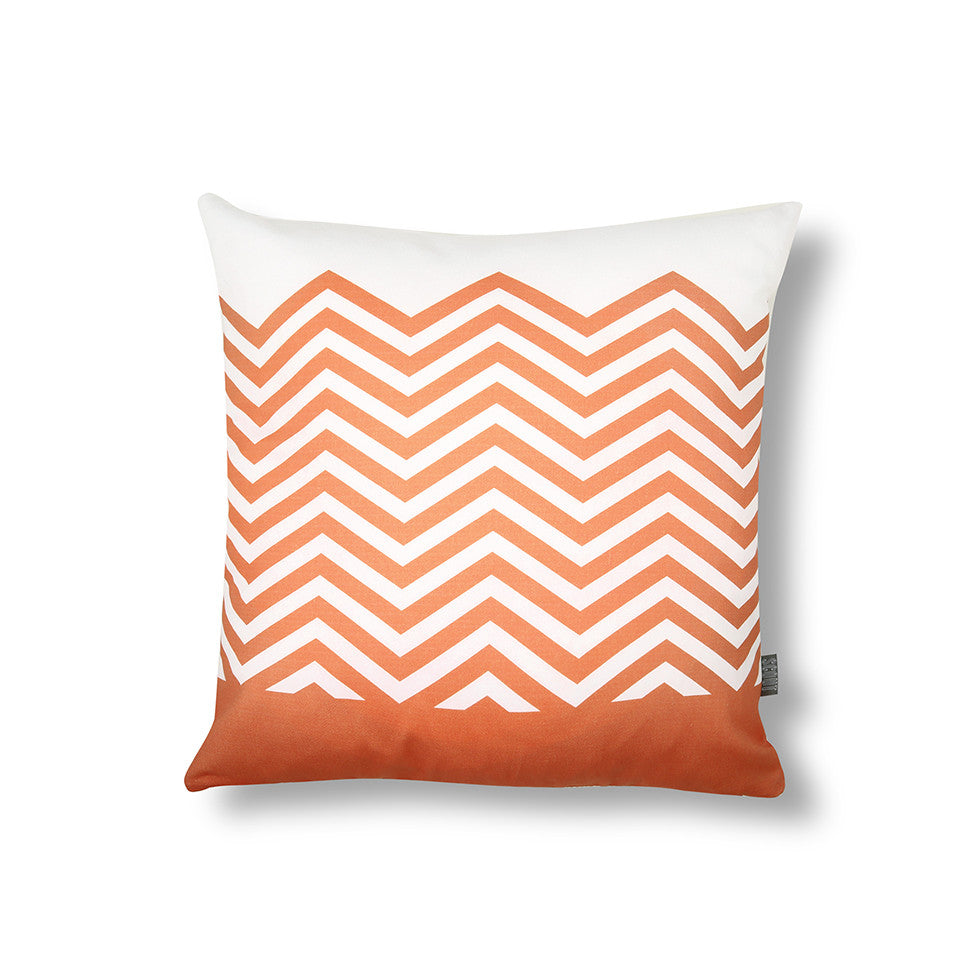 ZigZag Cushion Orange