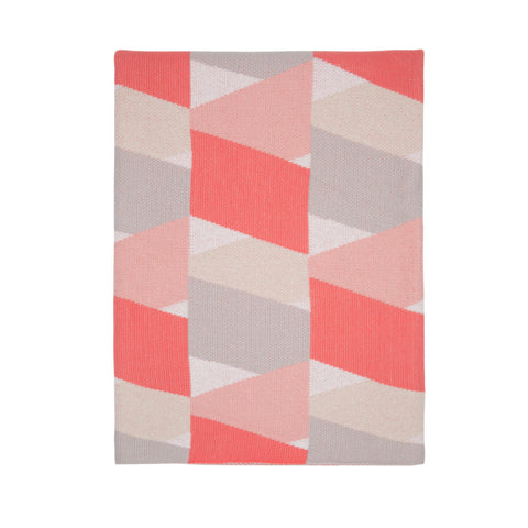 Knotty Stripe Sheet Set - Pink